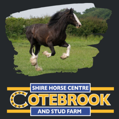 Cotebrook Shire Horse  - Heavy Blend™ Adult Hooded Sweatshirt Design